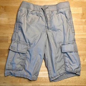 Old Navy Boy's Khaki Cargo Shorts Sz 14-16